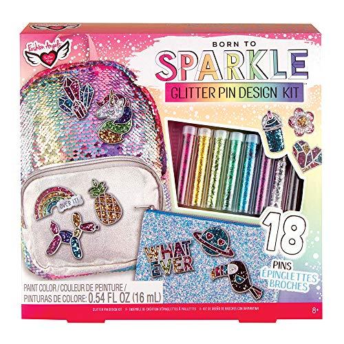 (Glitter Pin Design Kit)