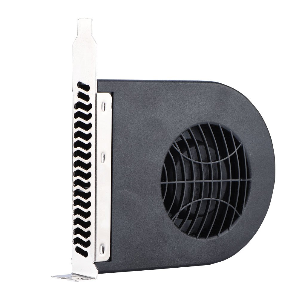 Bewinner Cooling Fan for Cooling Video Cards Mini System PCI Slot Blower CPU Case DC Cooling Fan New Cooling Fans PCI for Computer