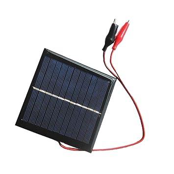 D DOLITY 1W Cargador Solar Impermeable Batería Externa para ...