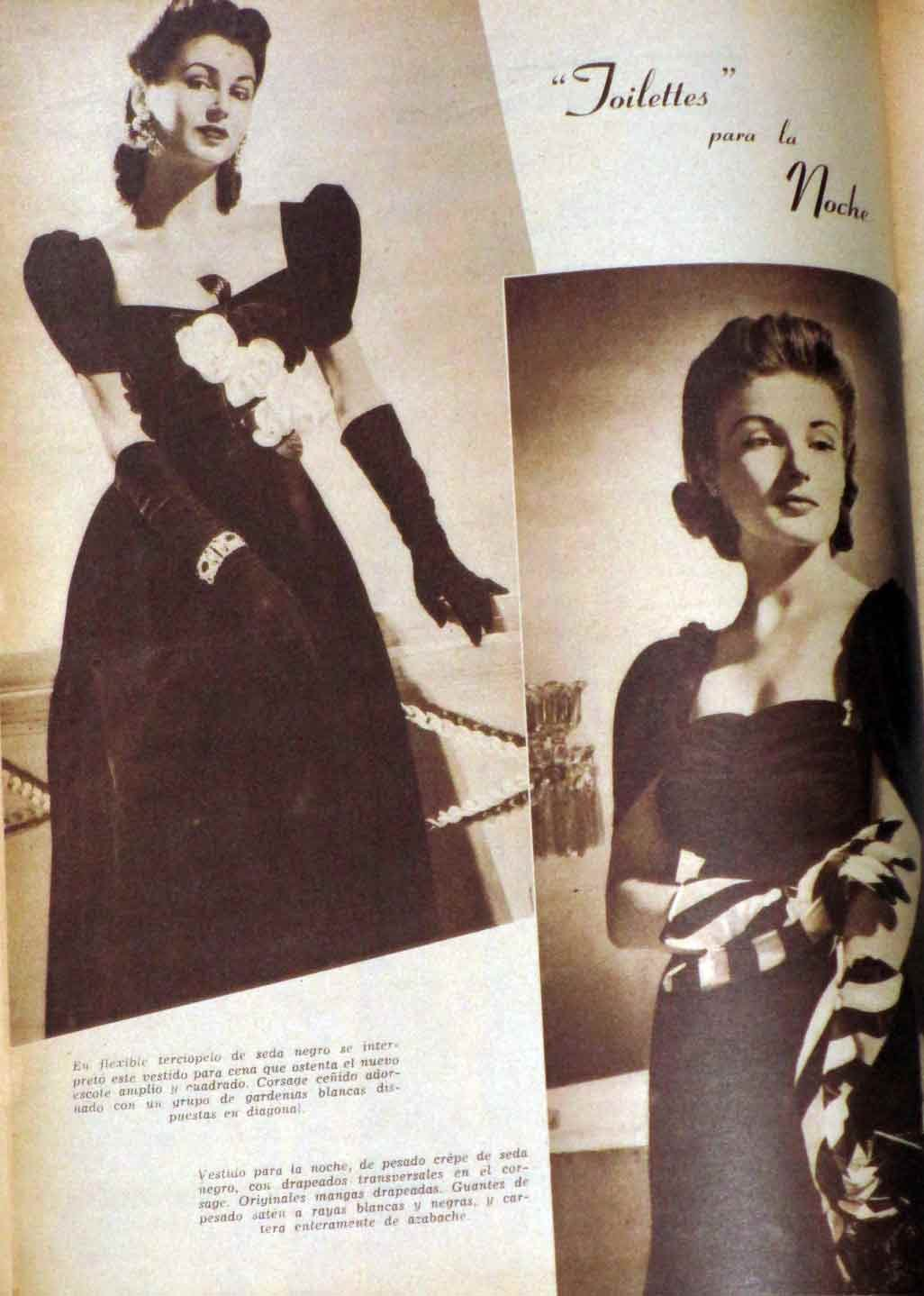 Para Ti / For You Fashion Couture Style April 1941 Vintage Magazine Like Vogue at Amazons Entertainment Collectibles Store