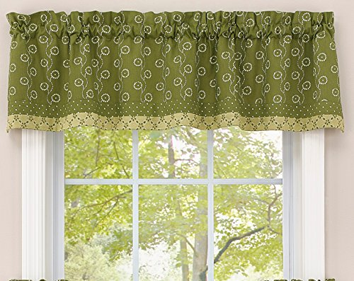 Park Designs Wythe Garden Lined Border - Valance Tailored Garden