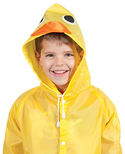 ed88517aedf8 Amazon.com  Cloudnine Children s Duck Raincoat(One size fits all ...