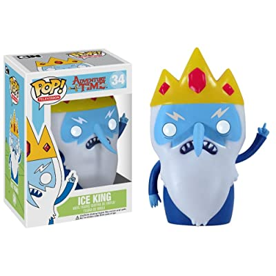 Funko POP Television: Adventure Time Ice King Vinyl Figure: Funko Pop! Television: Toys & Games