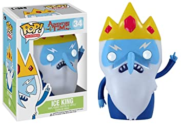 Amazon funko pop television adventure time ice king vinyl funko pop television adventure time ice king vinyl figure voltagebd Images