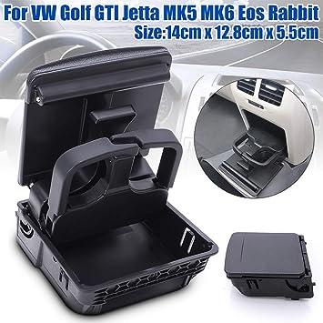 Soporte para reposabrazos trasero para VW Golf MK5, MK6, soporte para reposabrazos trasero de