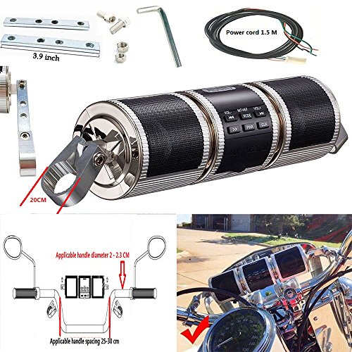 Motorcycle Sound Bar - 4