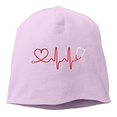 CHKWYN Male Warm Beanie Cap Cool Knitted Cap Nurse ...