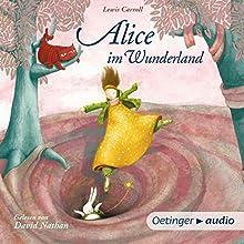 Alice im Wunderland Hörbuch von Lewis Carroll Gesprochen von: David Nathan