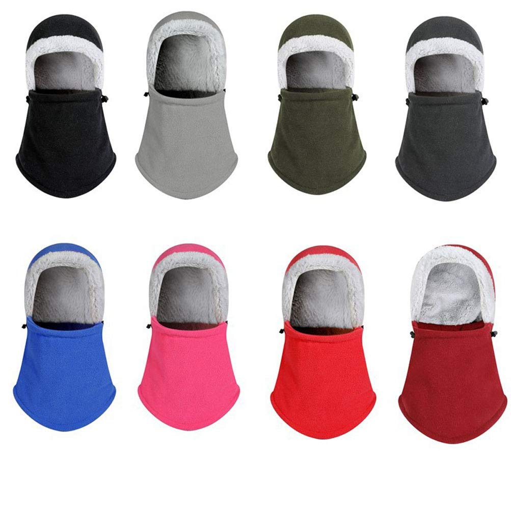 HEHGU Unisex Winter Snow Hat Ski Face Mask Caps Balaclava Caps Windproof