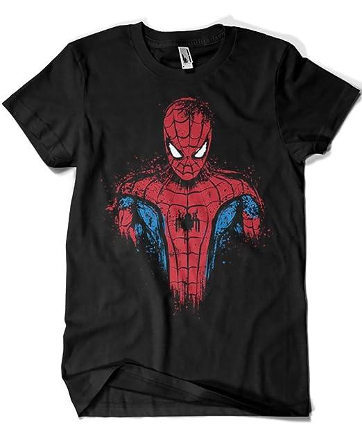 Camisetas La Colmena 2016-Parodia Spiderman - Web Warrior (Dr.Monekers): Amazon.es: Ropa y accesorios