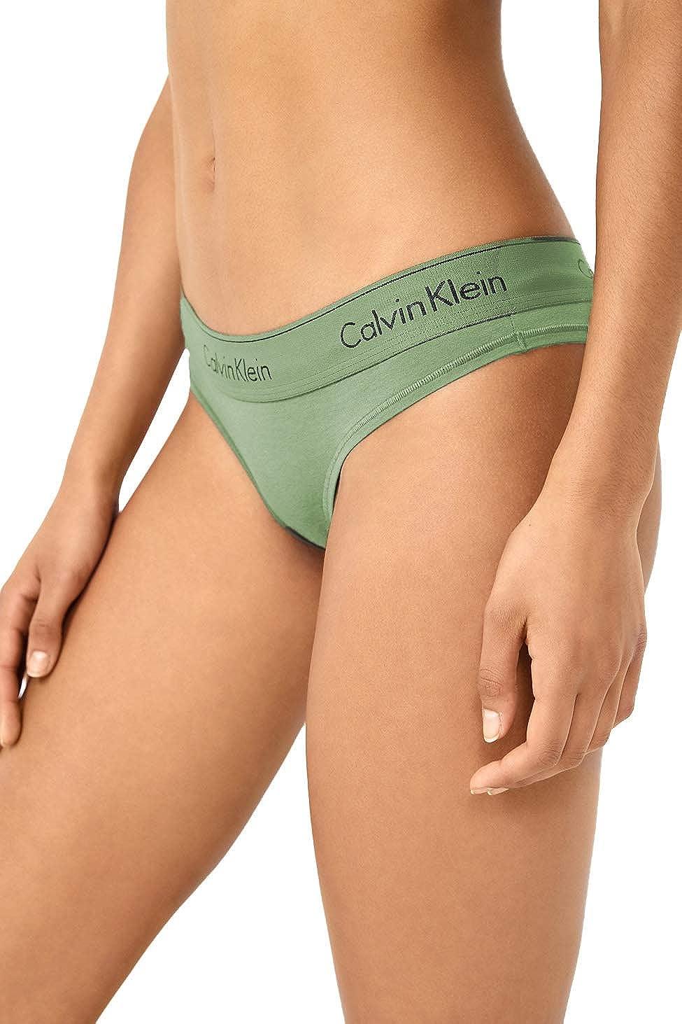 Calvin Klein Tanga Moderna de algodón para Mujer - - Small: Amazon.es: Ropa y accesorios