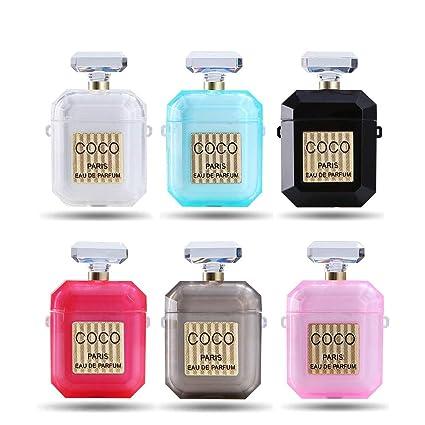 Ur Sunshine Airpods Case Creative Coco Perfume Bottle Shape