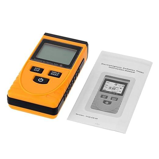 KKmoon Digital LCD Electromagnetic Radiation Detector Meter Dosimeter Tester Counter - - Amazon.com