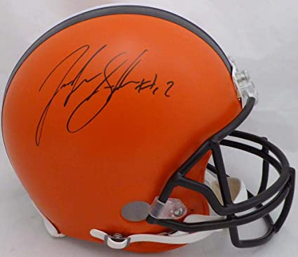 cfb356e52 Amazon.com: Autographed Josh Gordon Helmet - Full Size Authentic Proline Beckett  BAS Stock #134333 - Beckett Authentication: Sports Collectibles
