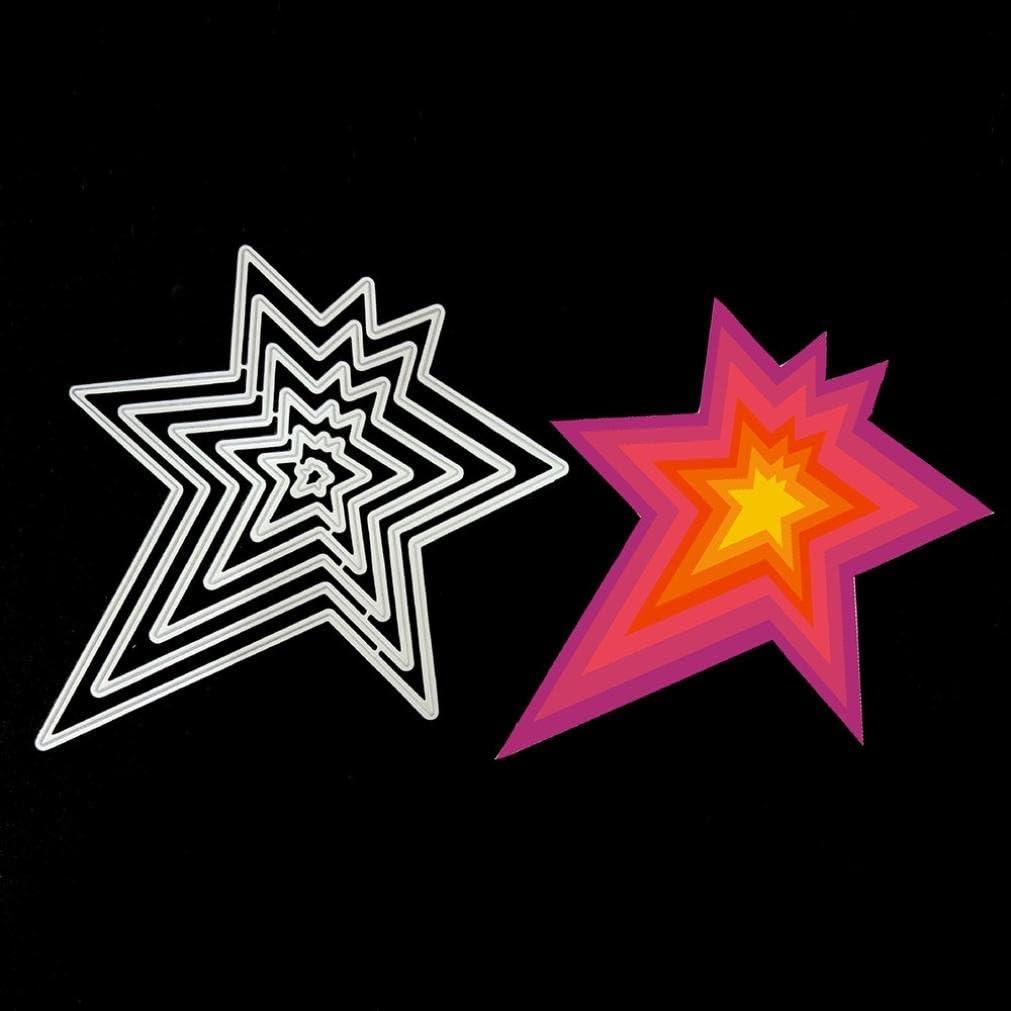 YUYOUG Fleur Metal Die d/écoupe Dies Pochoir pour Scrapbooking Bricolage Album Papier Carte Decor Craft Scrapbooking Dies de decoupe