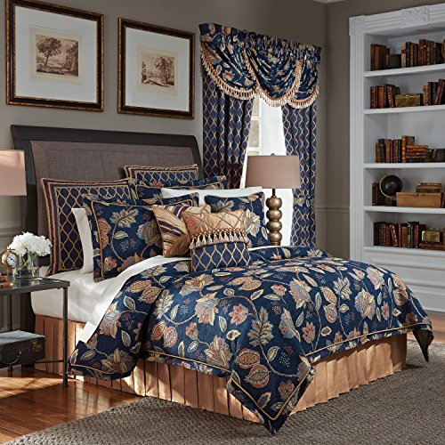 Croscill Queen Size Comforter - CROSCILL Julien Queen Comforter Set, 4 Piece