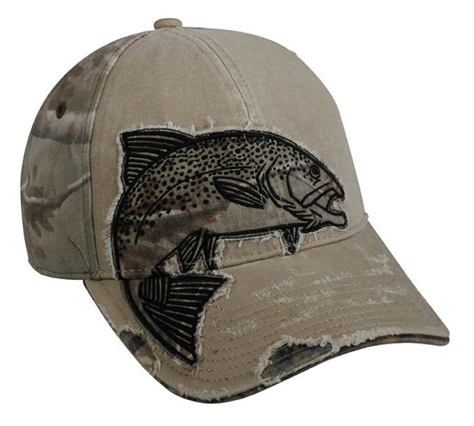 trout khaki fishing hat amazon men clothing store baseball caps for large dogs big heads uk wholesale china