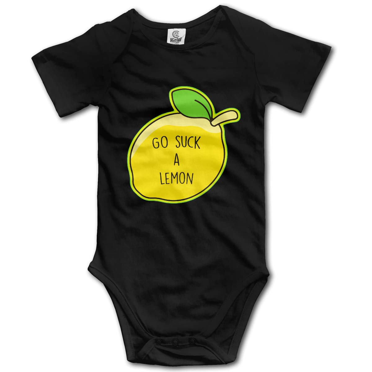 J122 Go Suck A Lemon Suit 6-24 Months Baby Short Sleeve Baby Clothes Climbing Clothes