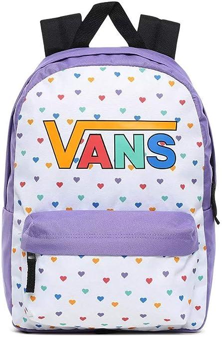 Vans Girls Realm Backpack, Mochila para Niñas, Talla