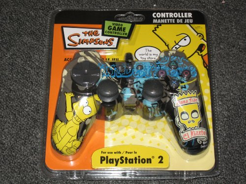Bethesda Softworks PS2 Simpsons Controller Bart