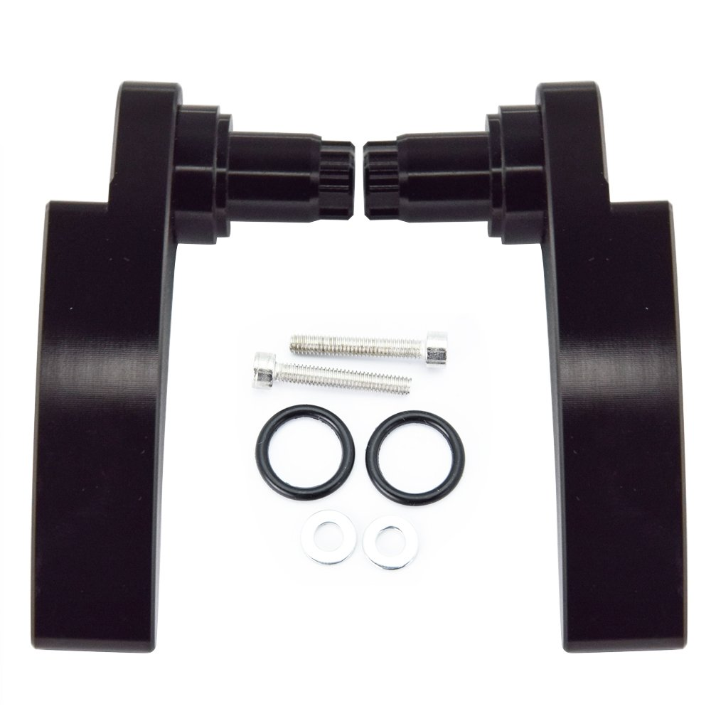 Black Saddlebag Lid Lifter for Harley Davidson Tri Glide Ultra Limited 2014 2015 2016 2017 2018