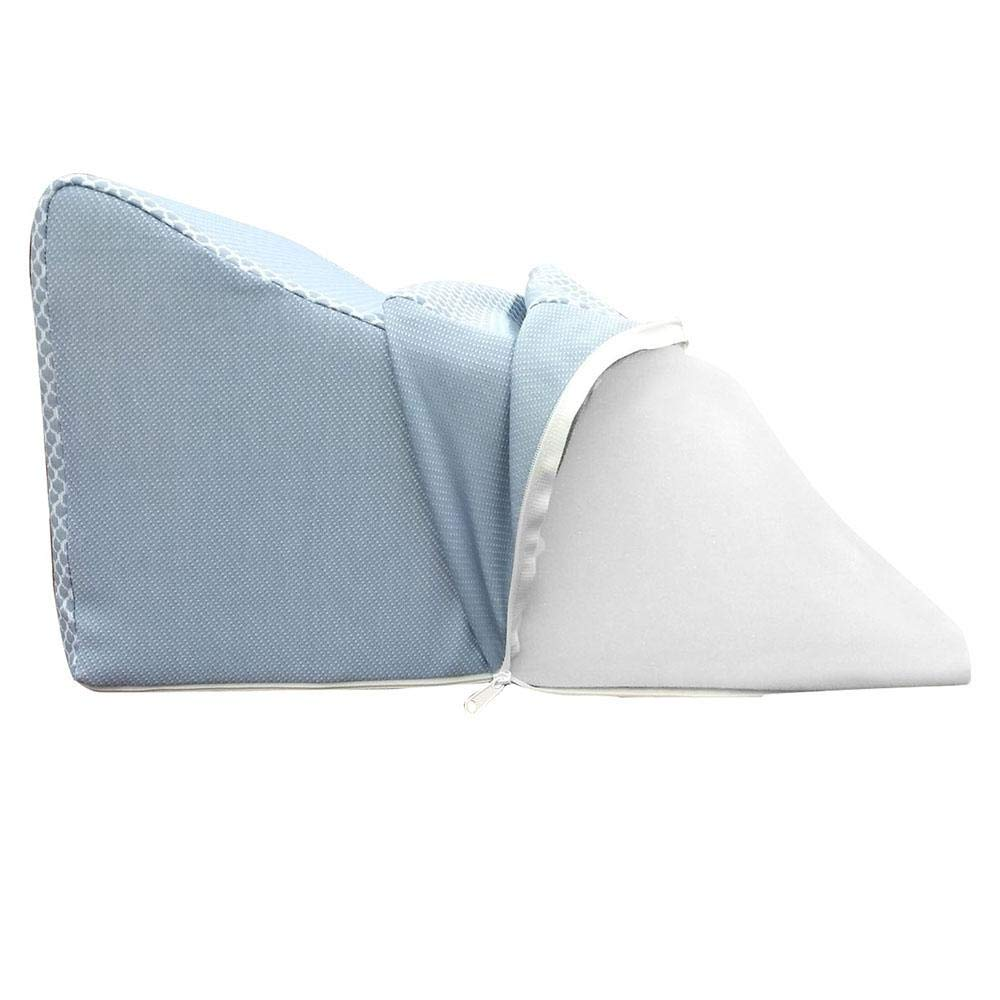 Lounge Doctor Leg Rest Standard Replacement Cover Light Blue Large Soft Cotton Lycra Material
