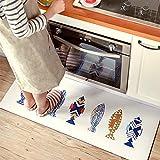 Ustide Premium Anti-Fatigue Comfort Mat- Ergonomic, Non-Slip, Non-Toxic & Waterproof Standing Kitchen Floor