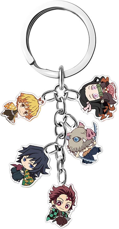 Demon Slayer: Kimetsu no Yaiba keychains Decor Pendant Hanging Ornament Anime Keychain