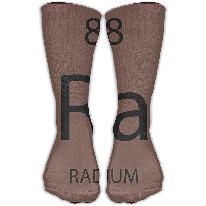 3cfcfb6ada47 Amazon.com  SESY Ra Chemical Element Radium Unisex Crew Socks Short Sports  Socks.  Clothing