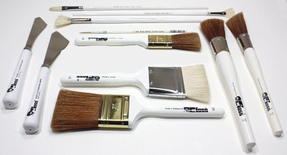 Bob Ross 11 Piece Landscape Brush Set