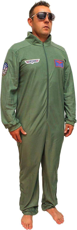 Amazon.com: Top Gun disfraz de adulto Maverick Flight traje ...