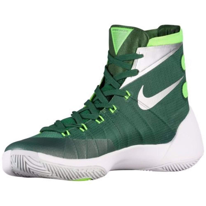 hot sale online bf05e 0fd9e Amazon.com   Nike Women s Hyperdunk 2015 TB Basketball Shoe (5.5 B(M) US, Gorge  Green Metallic Silver Electric Green)   Basketball