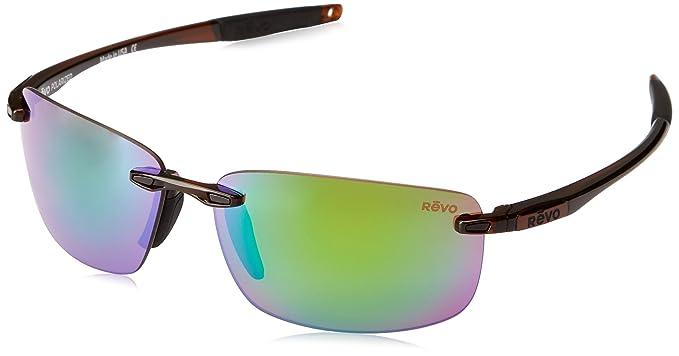 4e0814a8308 Amazon.com  Revo Unisex RE 4059 Descend N Rectangular Polarized UV ...
