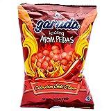 Garuda Food Kacang Atom Pedas - Spicy Coated Peanuts , 3.52 Oz