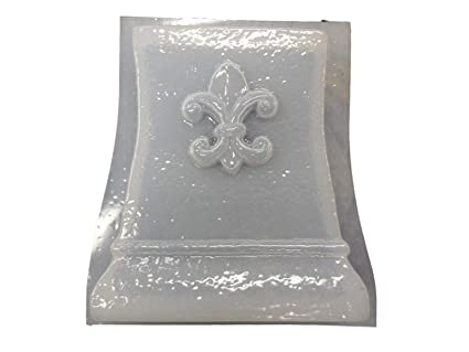 Marvelous Amazon Com Small Fleur De Lis Bench Leg Concrete Or Plaser Lamtechconsult Wood Chair Design Ideas Lamtechconsultcom