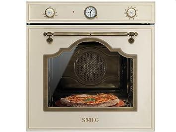Smeg SFP750POPZ Forno elettrico 65L A Ottone, Crema forno: Amazon ...