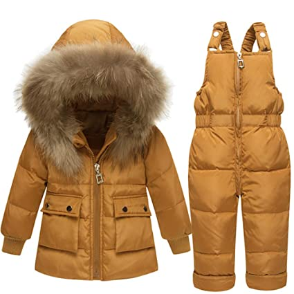 42508e494 Baby Clothing Sets Winter Warm Two Piece Puffer Down Jacket with ...