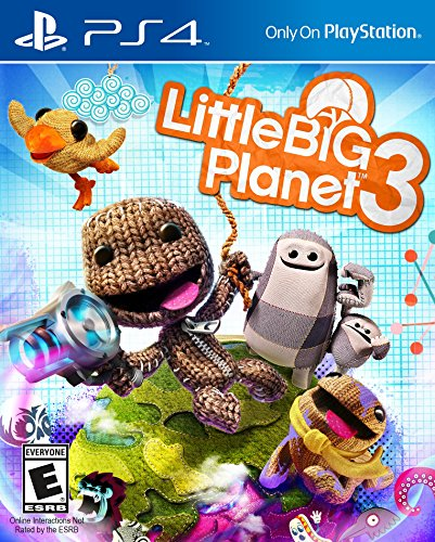 Little Big Planet 3 - PlayStation 4 (About A Boy Characters)