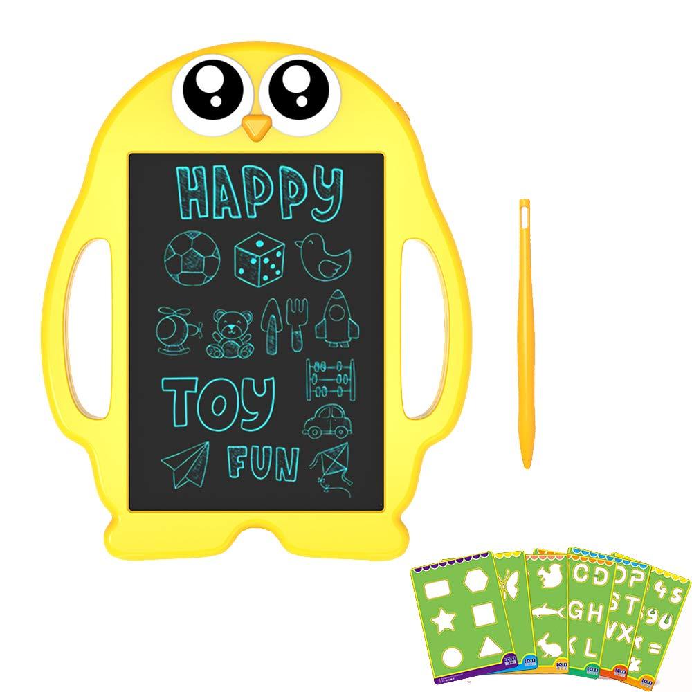 Sepper子供の製図板9インチポータブル電子ライティングと製図板キッズギフト手書き紙ペンギン黒板用学校&オフィス   B07G3ZCLDJ