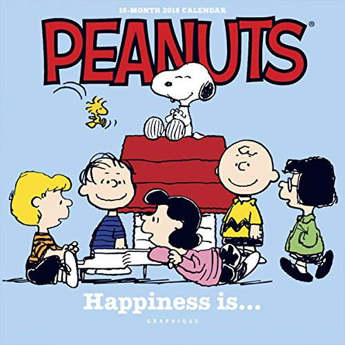 Graphique 2018 Peanuts Happiness Is Mini Calendar