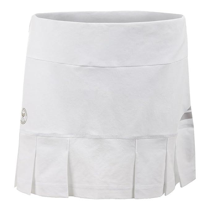 Babolat Girl s Wimbledon Rendimiento Falda Blanco blanco: Amazon.es: Deportes y aire libre