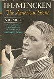 An American Scene, H. L. Mencken, 039443594X
