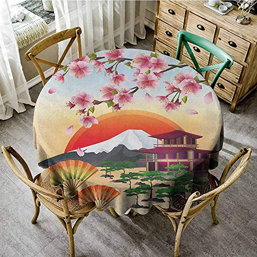 - Round Tablecloth and placemats 55