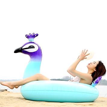 GFEU - Flotador hinchable gigante para piscina, creativo ...