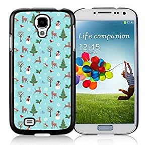 Galaxy S4 cases, Samsung Galaxy S4 cases,Christmas animals Samsung Galaxy S4 i9500 Case Black Cover