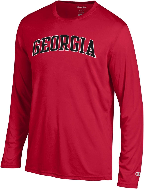 Champion NCAA Mens Athletic Long Sleeve Tee