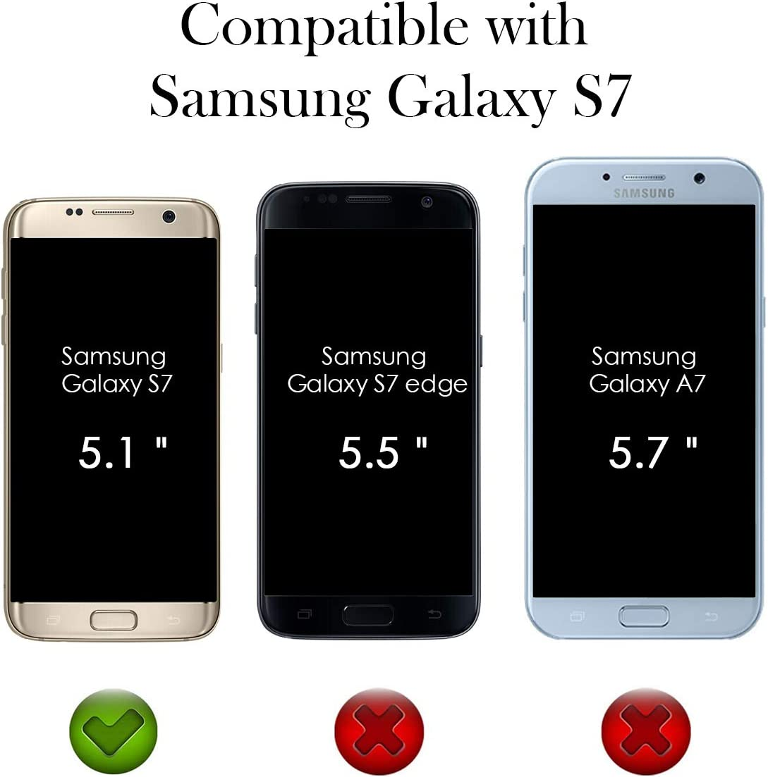 Yokata Funda para Samsung Galaxy S7, [3 Packs] Carcasa ...