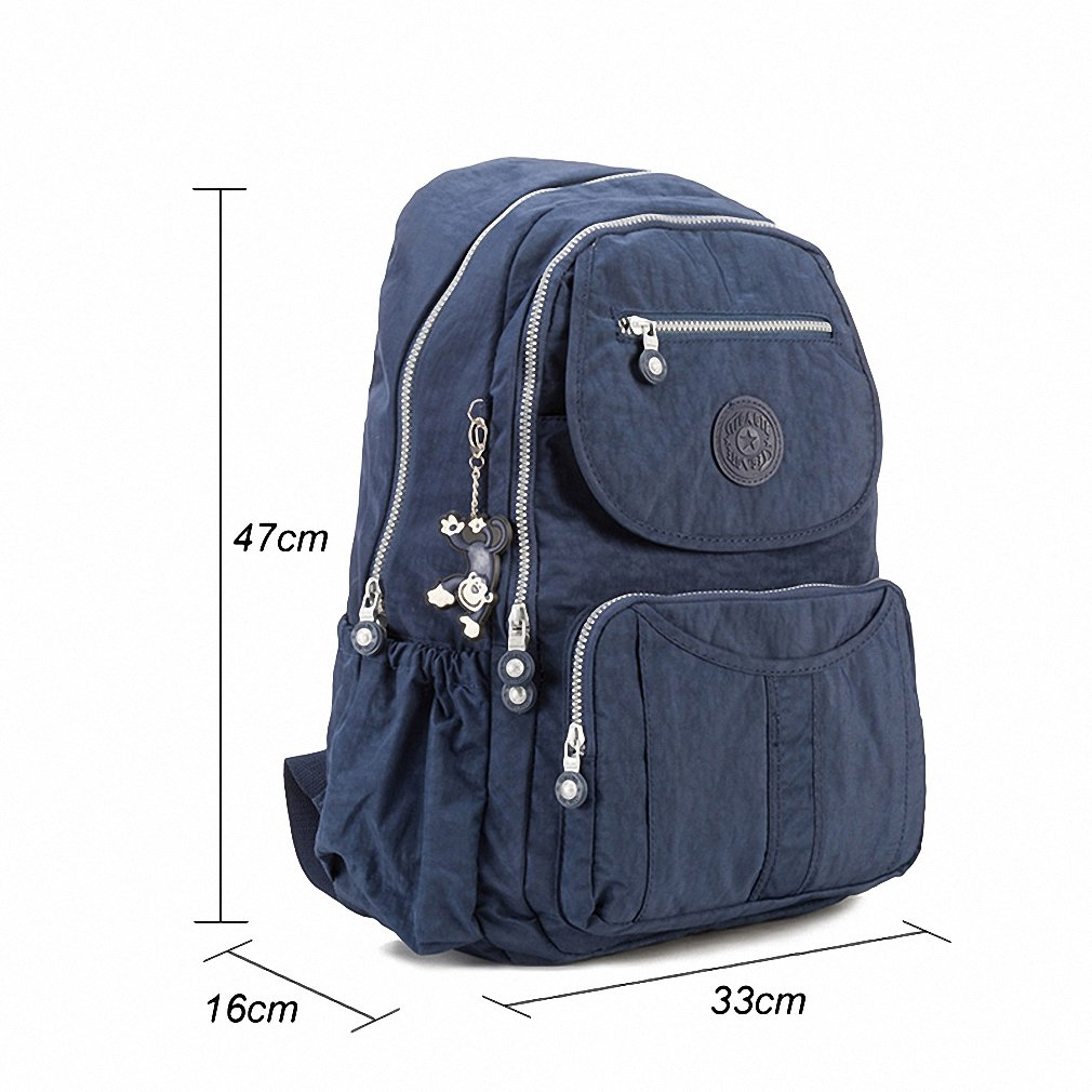 Amazon.com: School Backpack for Teenage Girls Mochila Feminine Backpacks Women Solid Famous Nylon Casual Laptop Bagpack Female NEW Color 3 ...