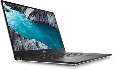 Dell XPS 15, Slim Laptop, Intel Core i7-9750H, 16GB RAM, 1TB SSD, 15.6 inch UHD Display, 4GB Nvidia GeForce GTX 1650 Dedicated Graphics, Win10, Eng-Arb KB, Silver Color