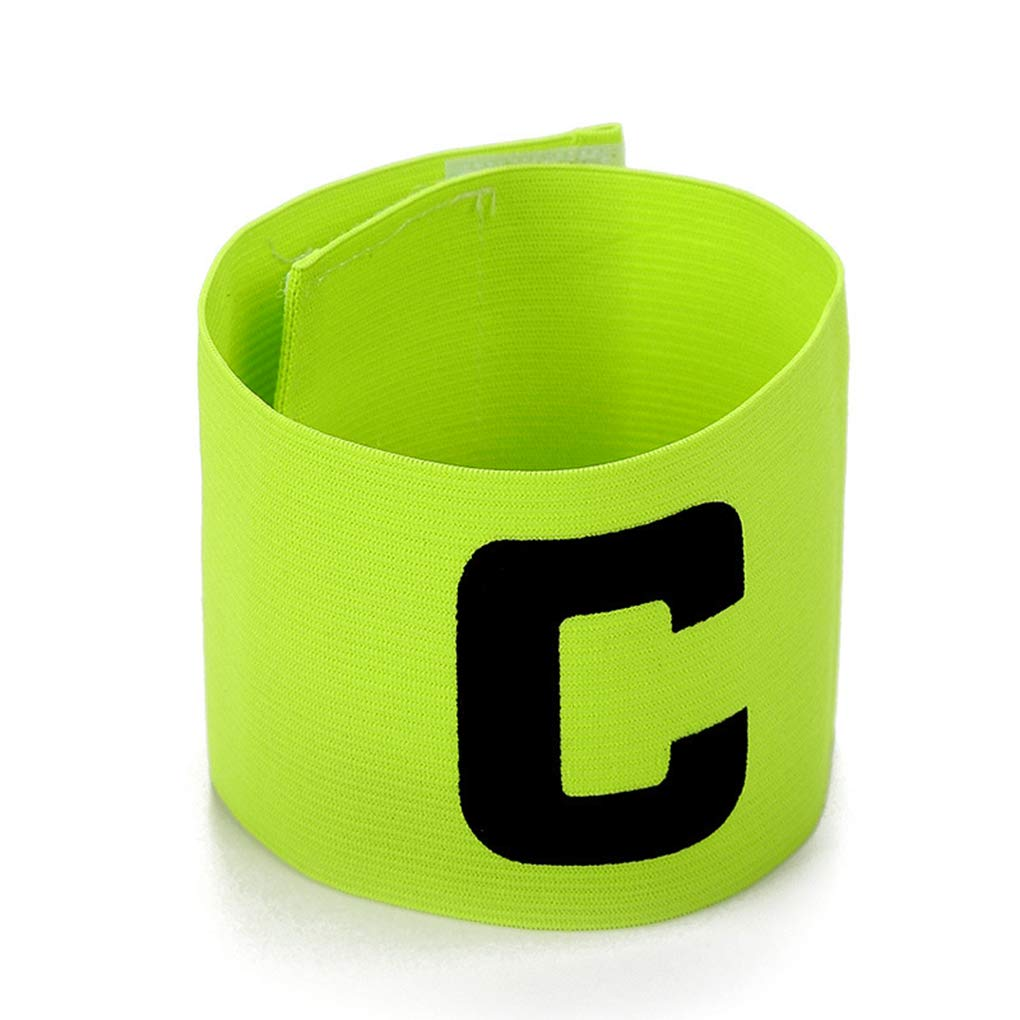 MioCloth Soccer Captain Armband Football Basketball Team Sport Adult Youth Adjustable College School Athletic Player Arm Bands Sleeve Accessory